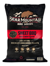 Load image into Gallery viewer, Sweet BBQ Craft Blends™ Wood Pellets