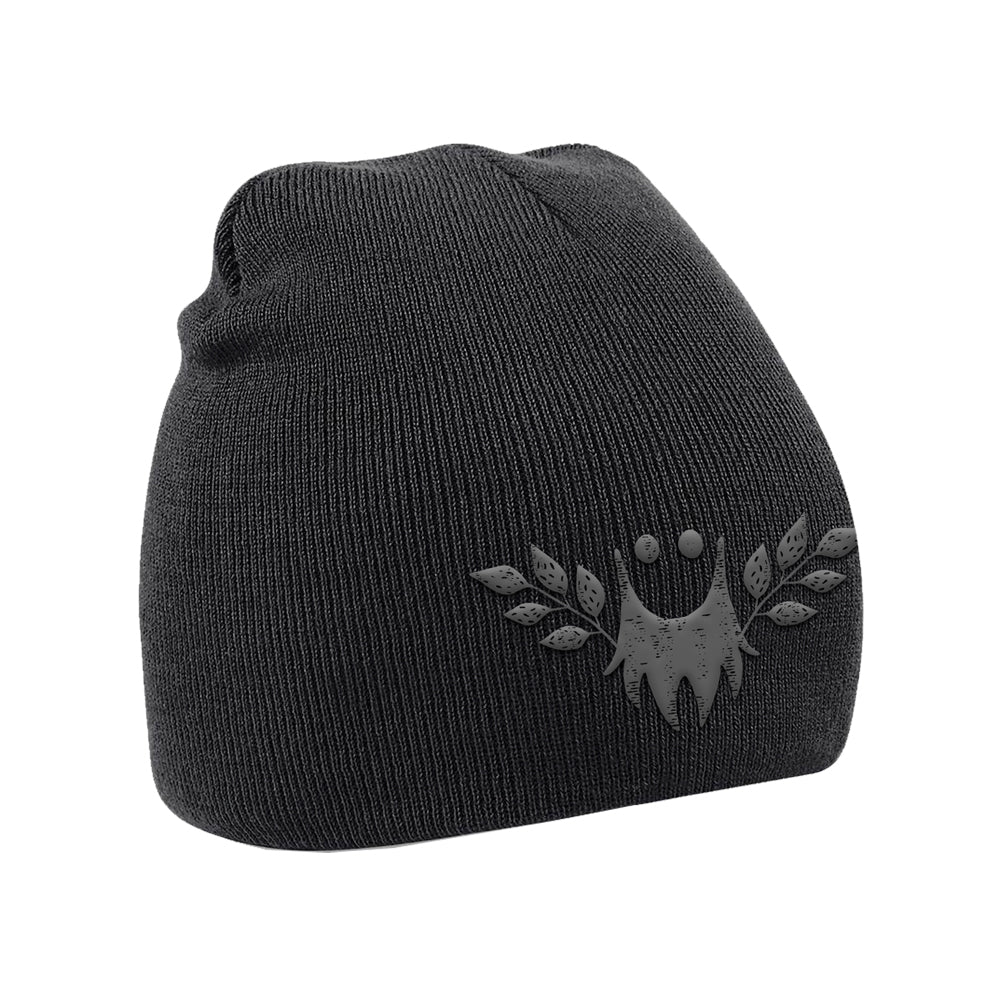 Bearded Theory Black Logo Beanie