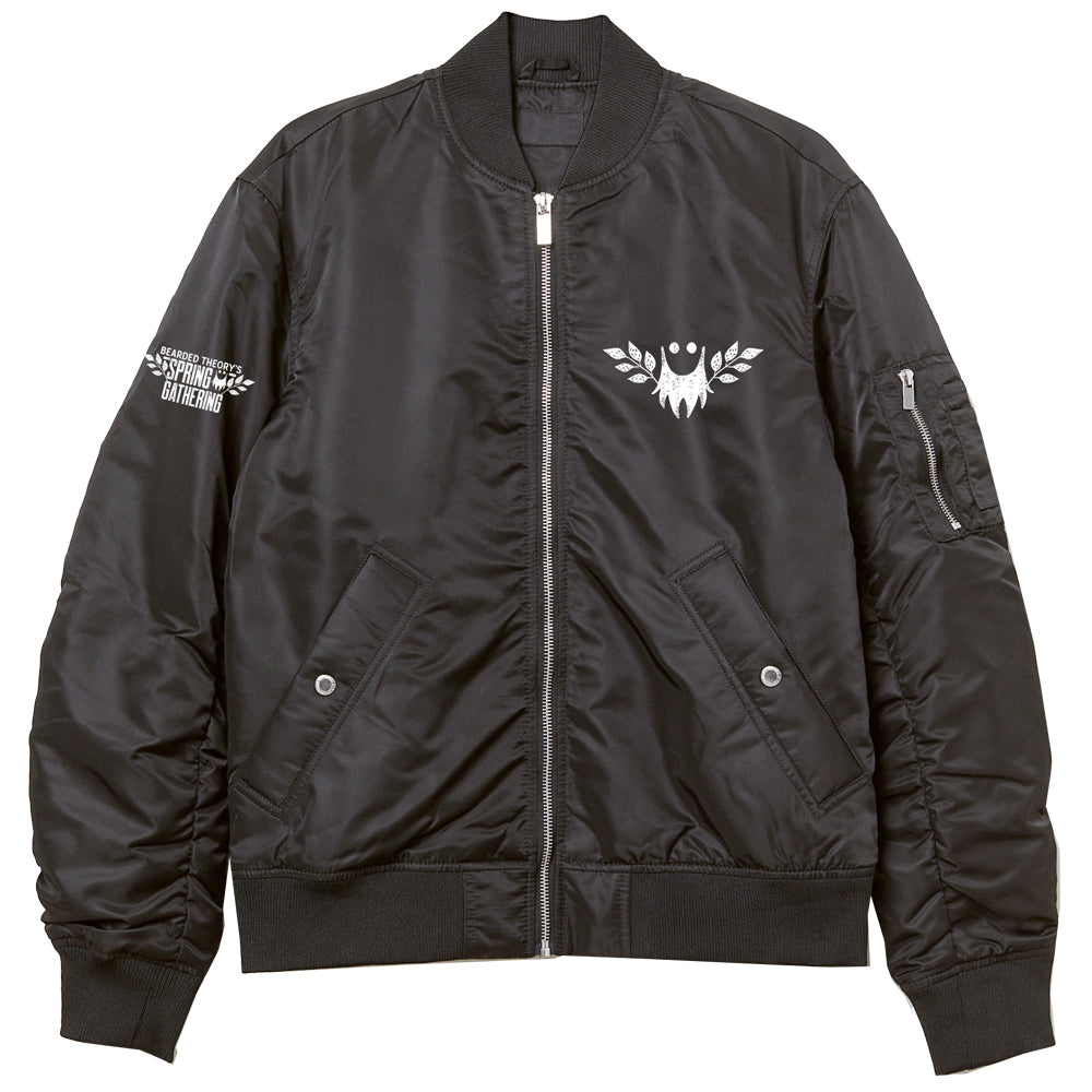 Bearded Theory Bomber Jacket