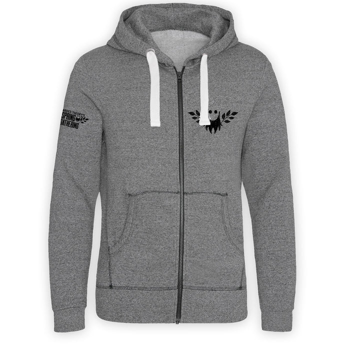 Bearded Theory Logo Zip Hoody