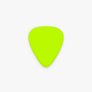 Glow in the Dark Guitar Pick