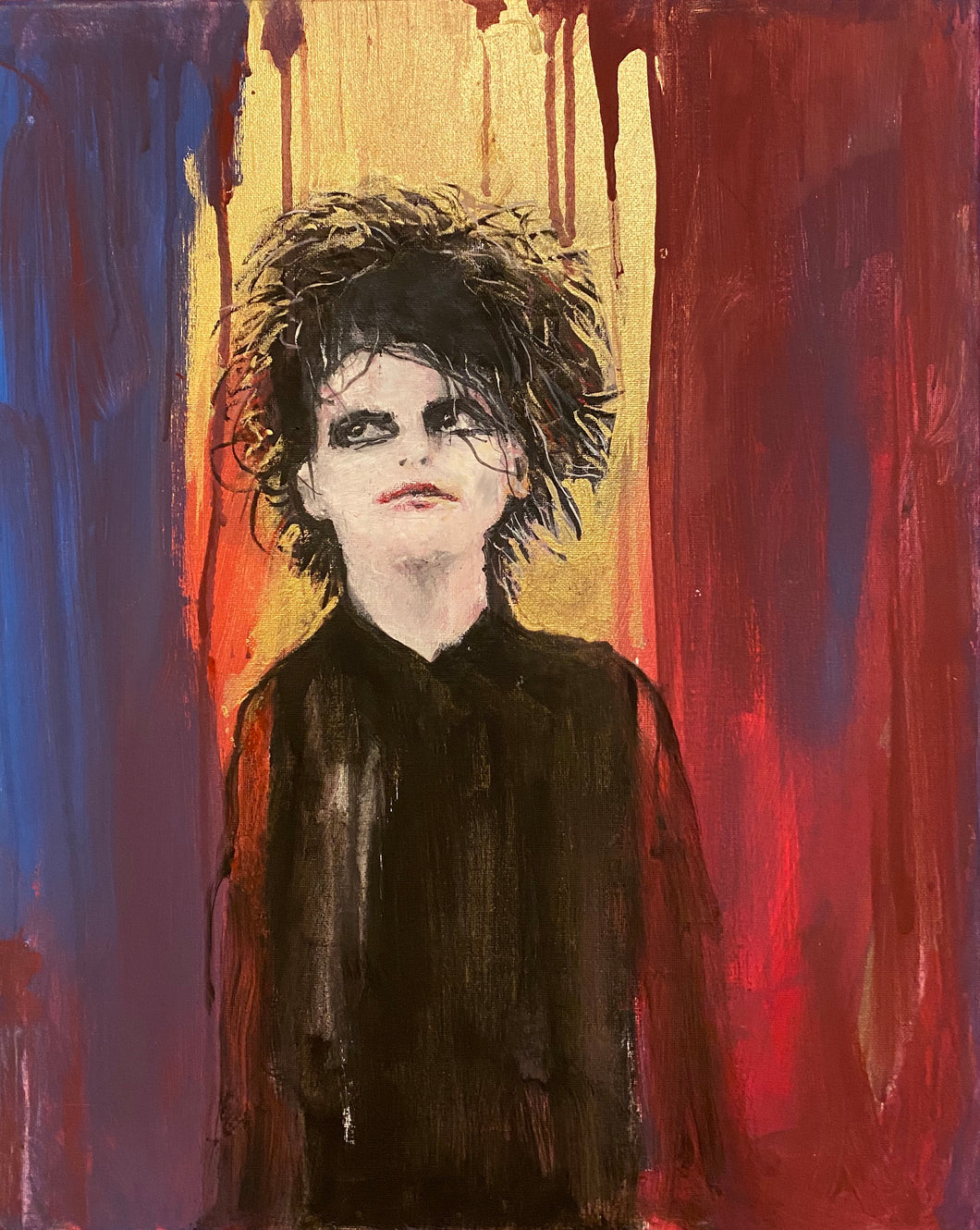 Robert Smith - The Cure - Original Portrait.
