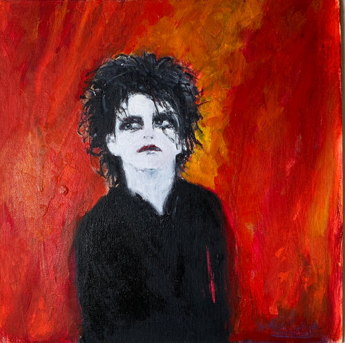 Robert Smith - The Cure - Portrait