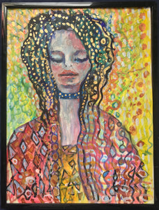 Gold Lady - Original Painting.