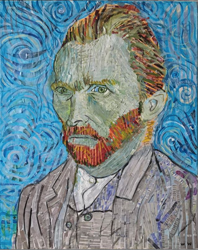 Vincent Van Gogh - Original Portrait.