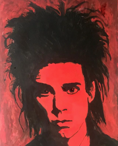 Nick Cave -  Original Portrait