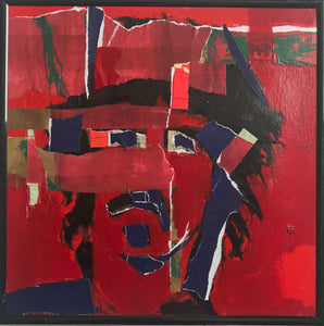 Frank Zappa - Original Collage Portrait.