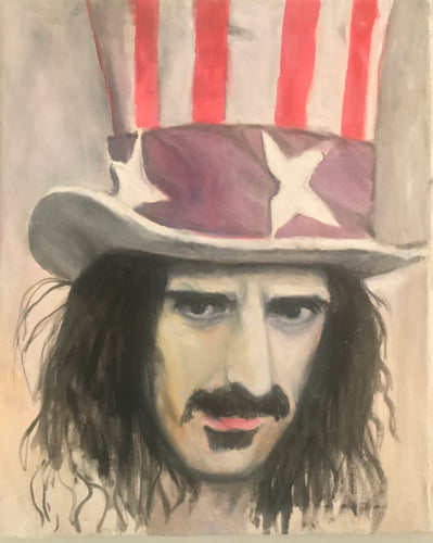 Frank Zappa - Original Oil Painting.
