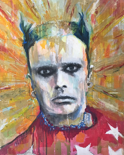 Keith Flint - Prodigy - Original Portrait.