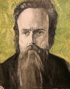 Sam Beam - Iron and Wine Portrait