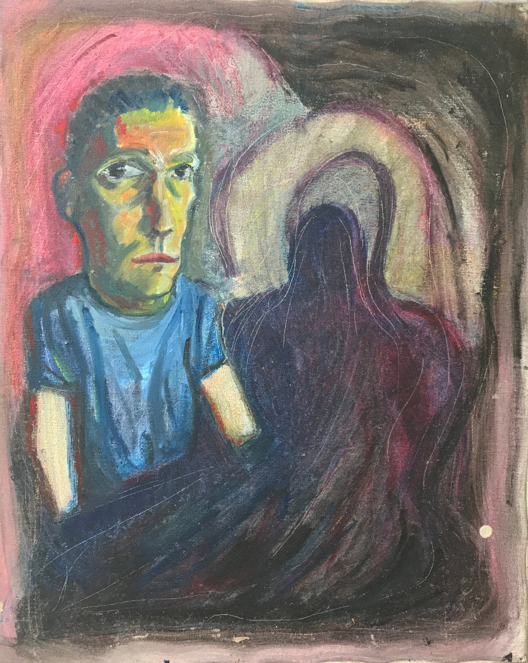 Self Portrait Drowning 1992.