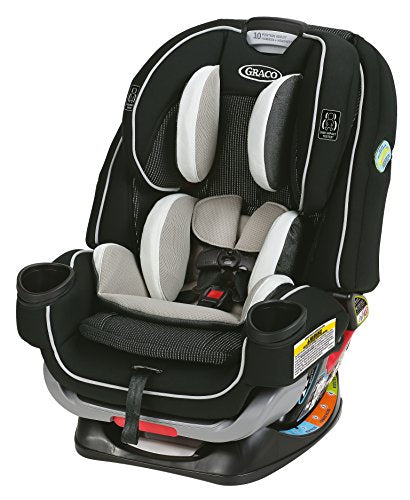 Graco 4Ever Extend2Fit All-in-One Convertible Car Seat, Clove