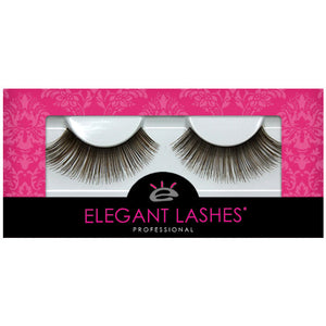 Elegant Lashes #002 Brown | 100% Natural Human Hair False Eyelashes Triple Pack (3 pairs multipack)