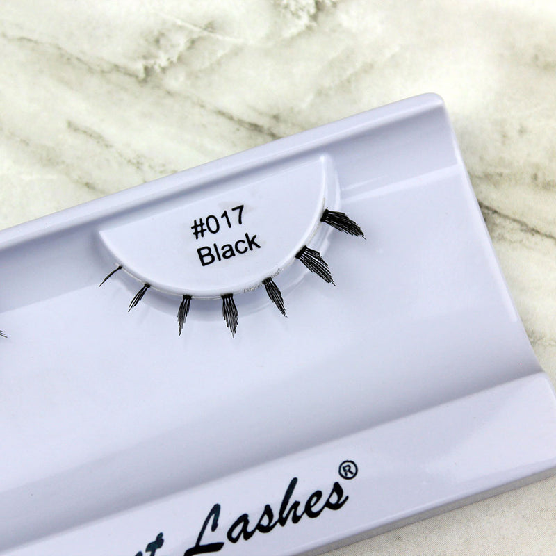 017 black under bottom lower false eyelashes
