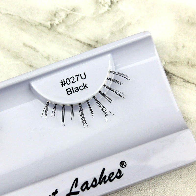 027 Black under bottom lower false eyelashes