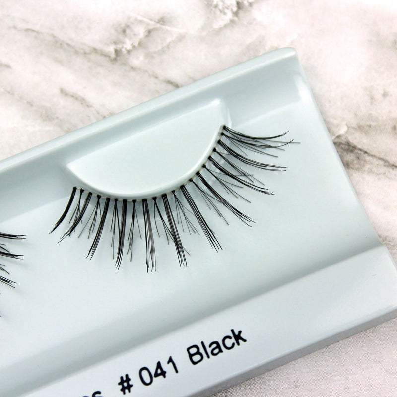 Elegant Lashes #041 Black False Eyelashes