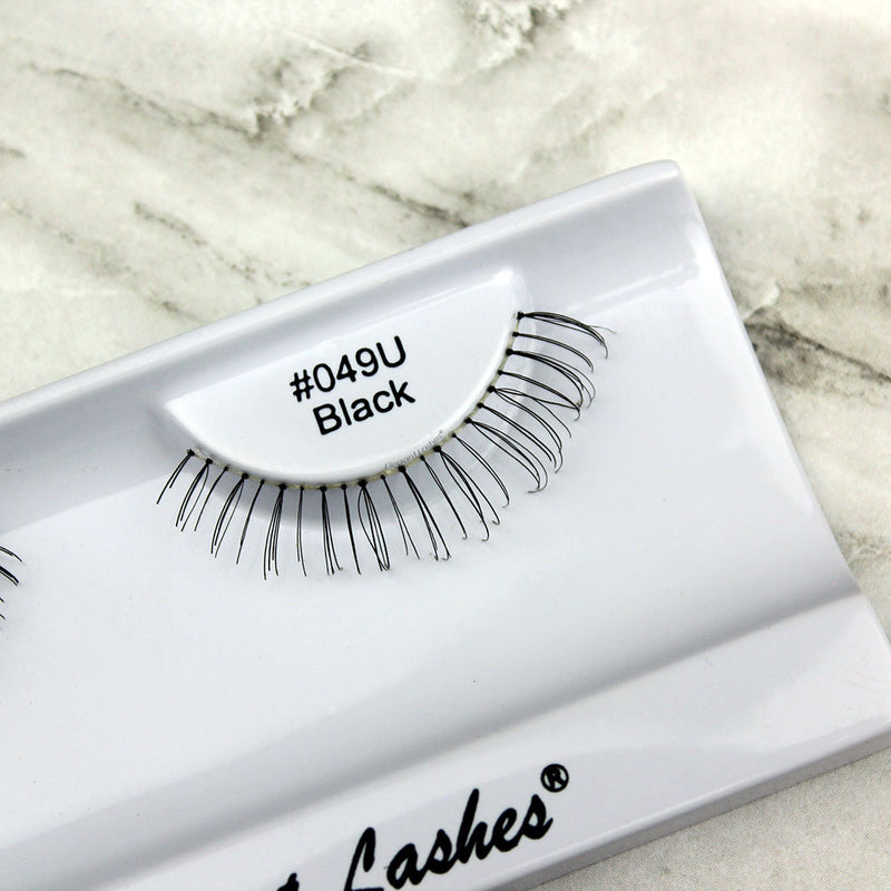 049 Black under bottom lower false eyelashes