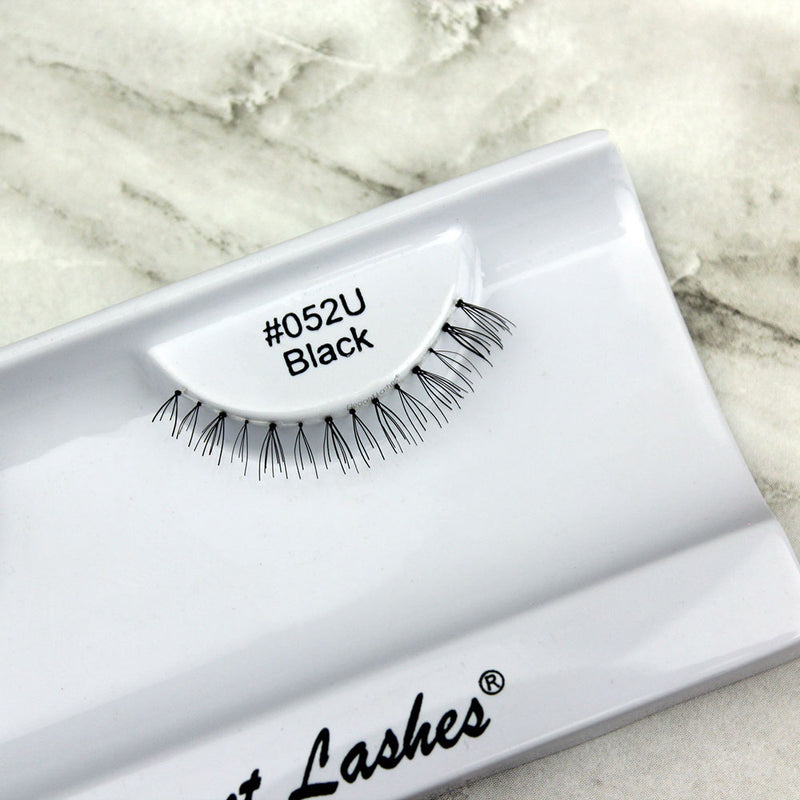 052 Black under bottom lower false eyelashes