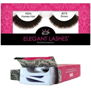 Elegant Lashes 079 Brown | Triple Pack (3 pairs)