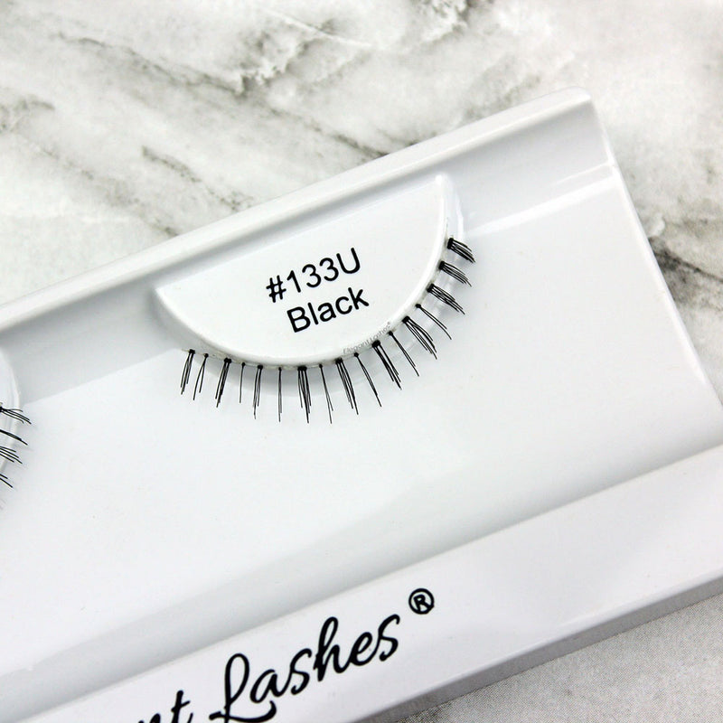 133 Black under bottom lower false eyelashes
