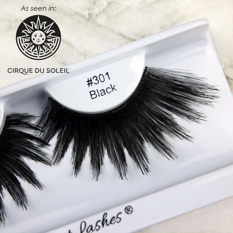 bulk 301 drag queen false eyelashes 100% natural human hair | Elegant Lashes