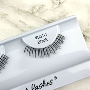 501 Black under bottom lower false eyelashes