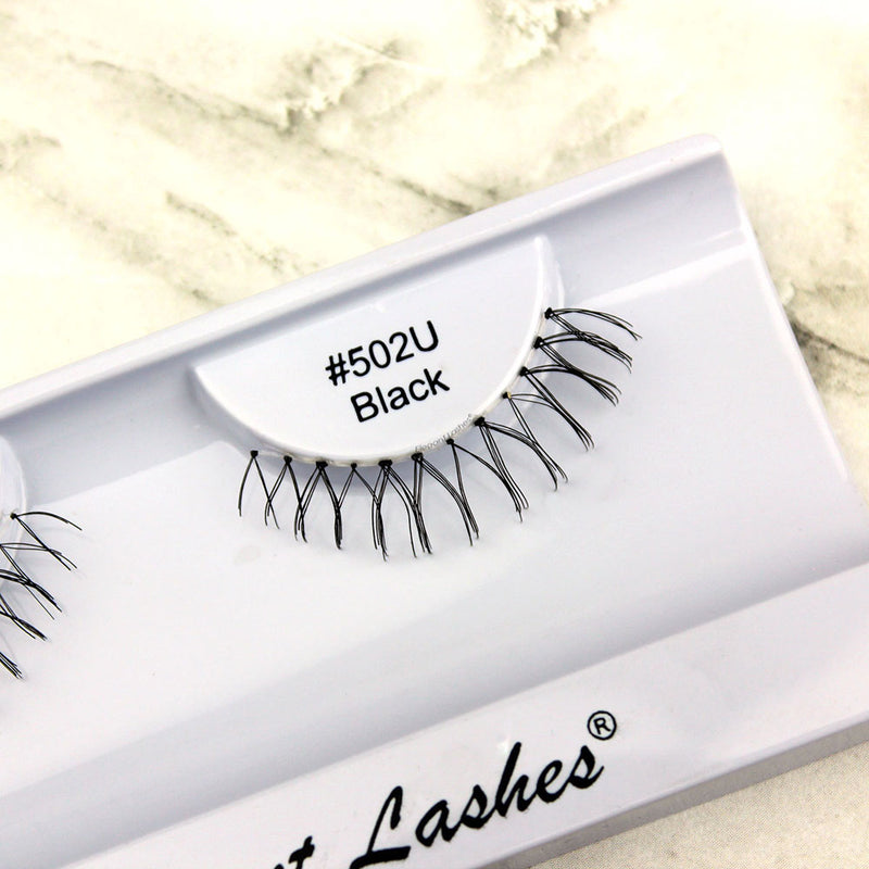 502 Black under bottom lower false eyelashes