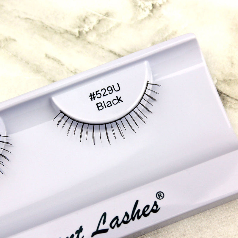 529 Black under bottom lower false eyelashes