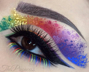 C075 Rainbow Carnival Color Bottom Lashes