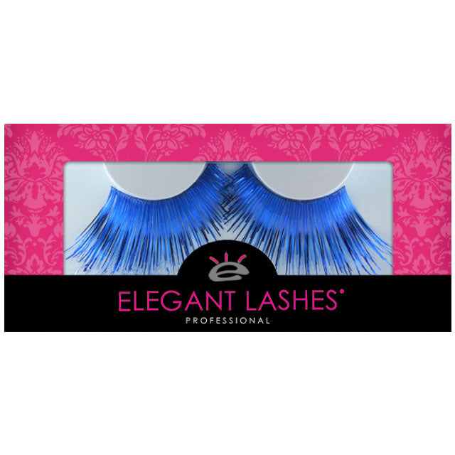 C190 Shimmering Blue Carnival Color Drag Lashes