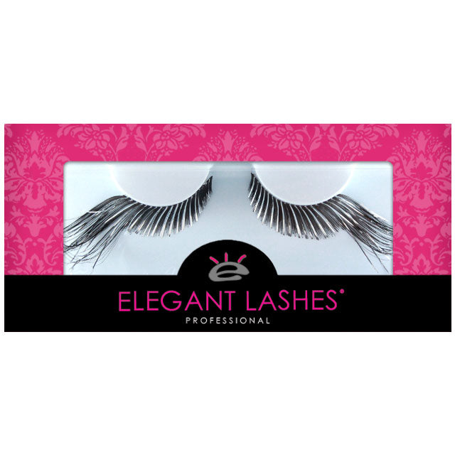 C194 Winged Silver Mix Black Carnival Color Lash