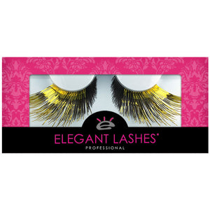C549 Gold Gradient Carnival Color Drag Lashes