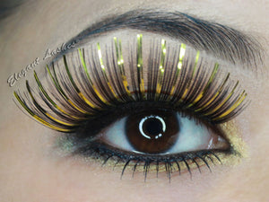 C907 Gold Mix Carnival Color Lash