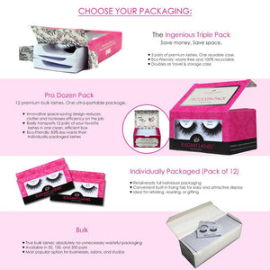 Elegant Lashes bulk packaging options