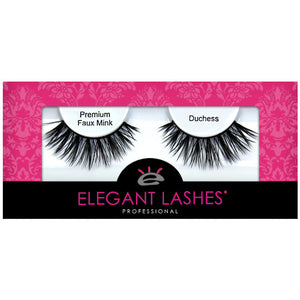 Cruelty-free affordable bulk vegan faux mink false eyelashes | Elegant Lashes Duchess (Triple Pack - 3 pairs multipack)