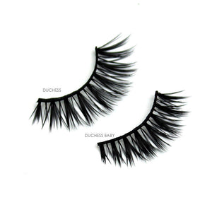 Cruelty-free affordable bulk vegan faux mink false eyelashes | Elegant Lashes Duchess & Duchess Baby