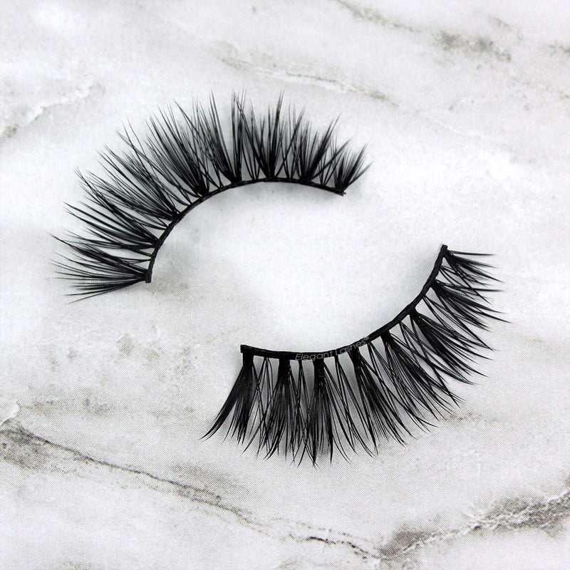 Elegant Lashes® Duchess faux mink cruelty-free vegan faux mink eyelashes synthetic