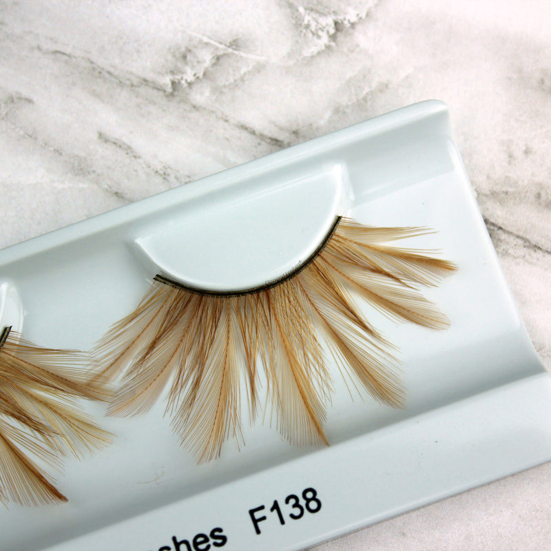 F138 Premium Feather Lashes