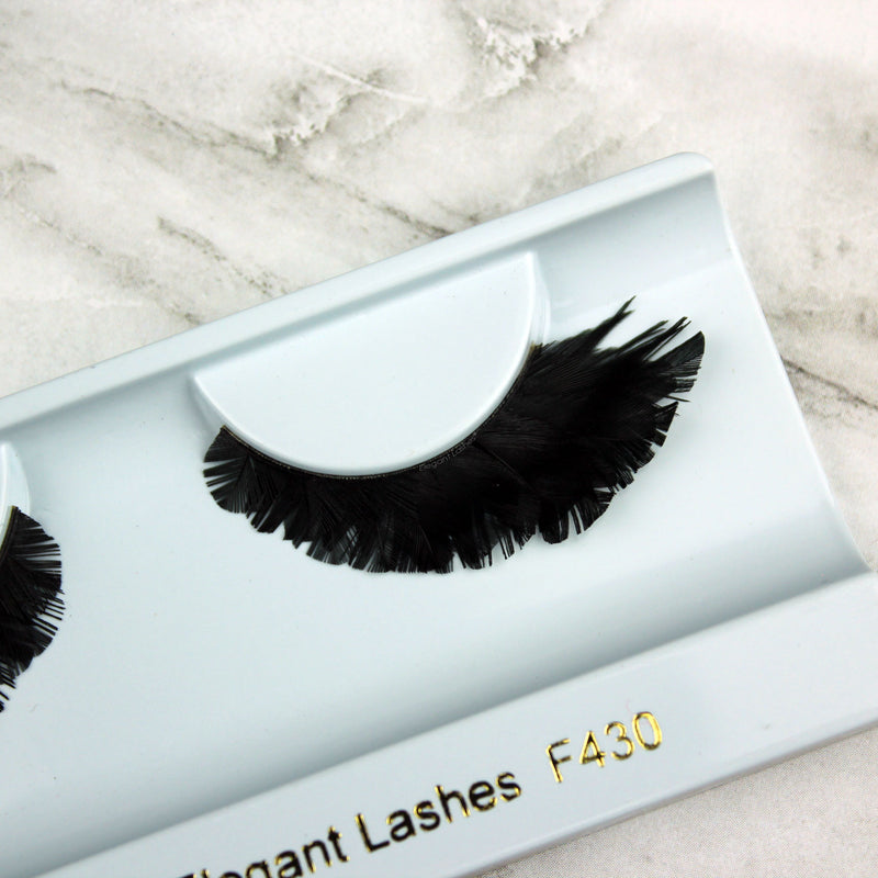 F430 Premium Feather Lashes