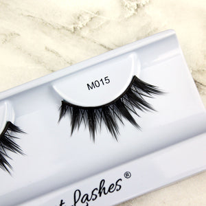 Elegant Lashes cruelty-free Mystic synthetic false eyelashes natural-looking for Asian eyes