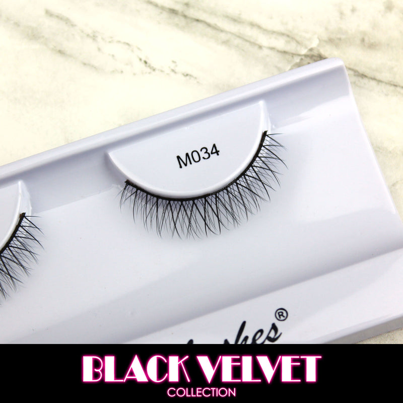 M034 Black Velvet Lower Lashes