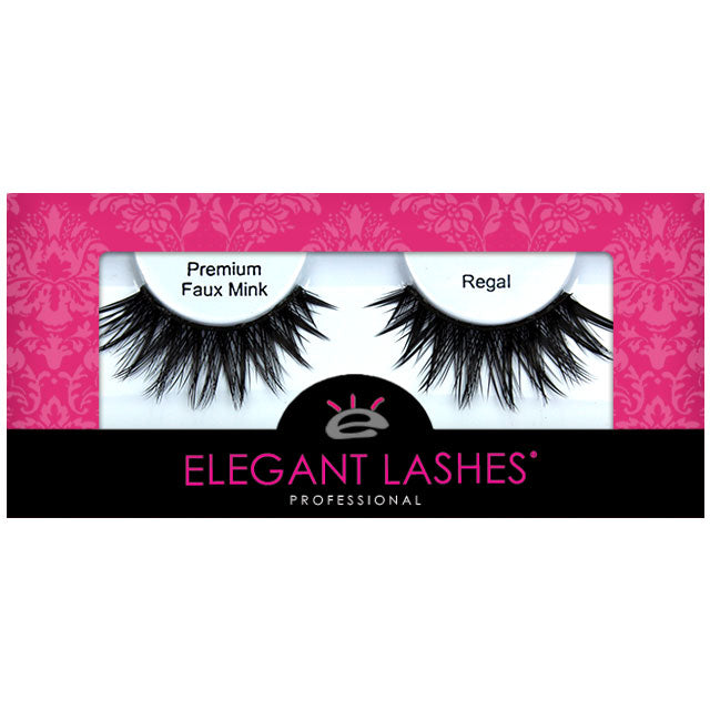 Cruelty-free affordable bulk vegan faux mink false eyelashes | Elegant Lashes Regal (Triple Pack - 3 pairs multipack)