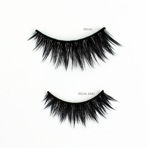 Cruelty-free vegan faux mink false eyelashes | Elegant Lashes Regal