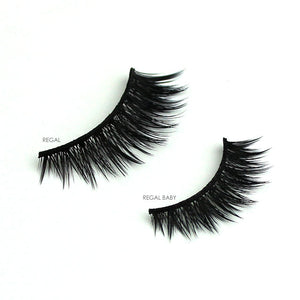 Cruelty-free vegan faux mink false eyelashes | Elegant Lashes Regal & Regal Baby