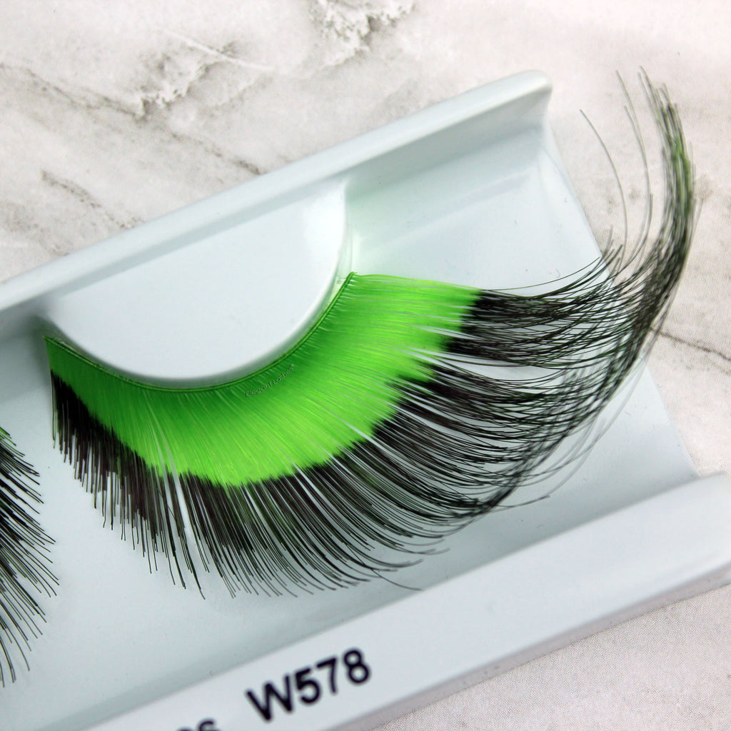 "W578 ""Hard Lime"" Wild Color Lash"