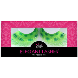 "W591 ""Green Leopard"" Wild Color Lash"