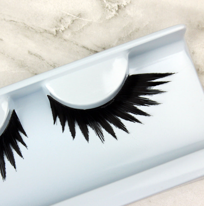 "W699 ""Lolita"" spiky long black lashes"