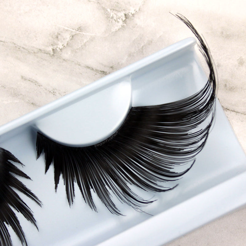 Elegant Lashes W947 Queenie | Long Dramatic Giant Drag Queen False Eyelashes