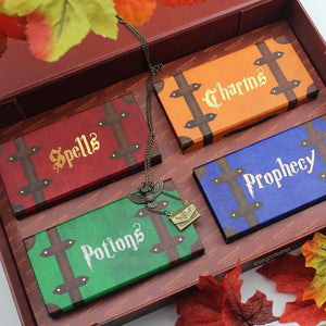 Harry Potter eyelash packaging Spells Charms Potions Prophecy | Witches & Wizards Collection by Elegant Lashes