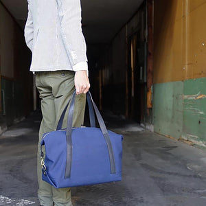 Tochigi Leather Handle Boston Bag L